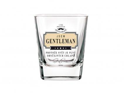 Sklenice na whisky Jsem gentleman