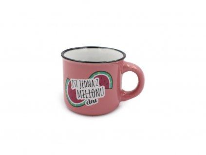 Mini hrneček na kávu Jsi jedna z miliónu