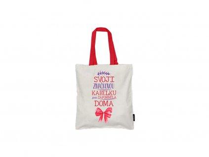 Nákupní taška Značková kabelka Neplastuj