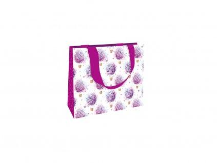 Dárková taška střední Hortenzie