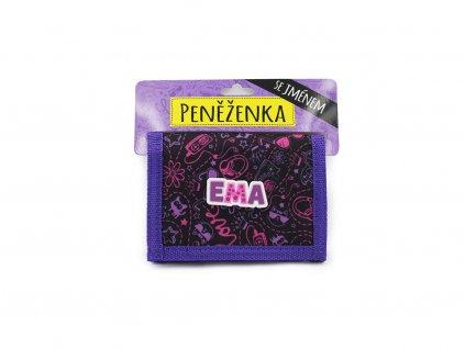 Dětská peněženka se jménem EMA