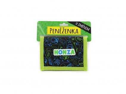 Dětská peněženka se jménem HONZA