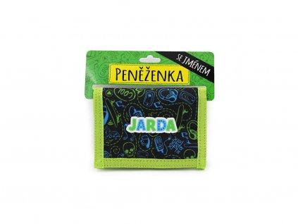 Dětská peněženka se jménem JARDA