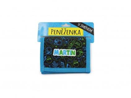 Dětská peněženka se jménem MARTIN
