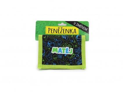 Dětská peněženka se jménem MATĚJ