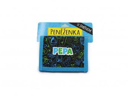 Dětská peněženka se jménem PEPA