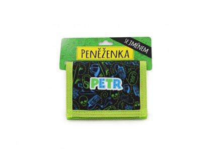 Dětská peněženka se jménem PETR