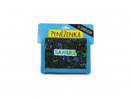 Dětská peněženka se jménem SAMUEL