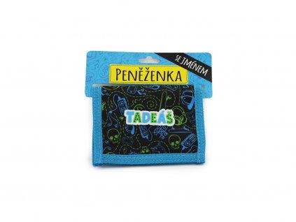 Dětská peněženka se jménem TADEÁŠ