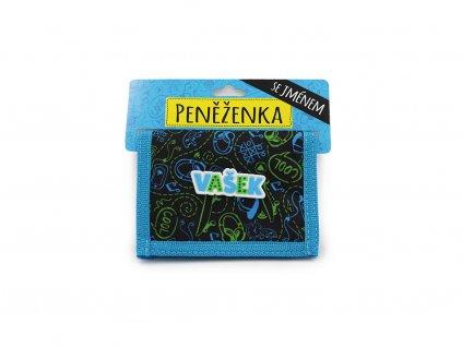 Dětská peněženka se jménem VAŠEK