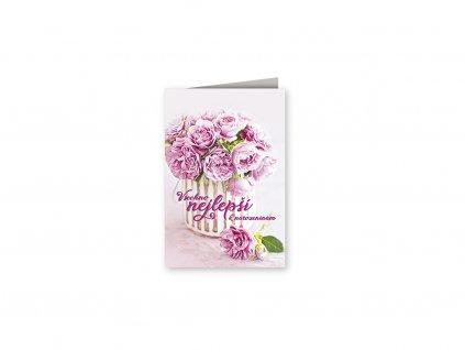 Přání k narozeninám Čajové růže