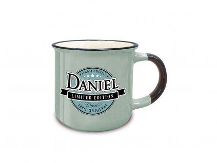 Hrnek se jménem DANIEL Retro