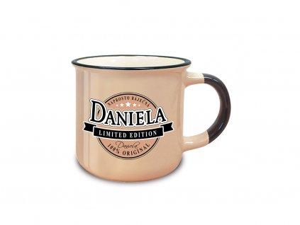 Hrnek se jménem DANIELA Retro