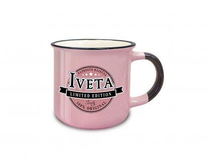 Hrnek se jménem IVETA Retro