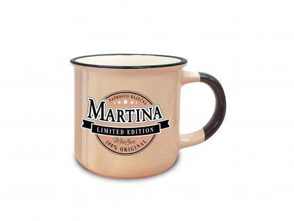 Hrnek se jménem MARTINA Retro