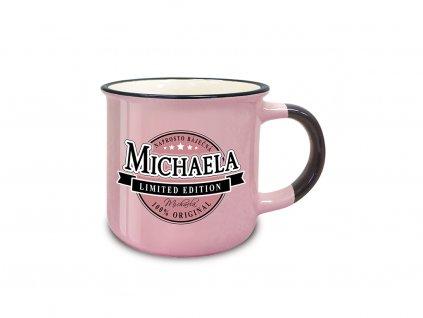 Hrnek se jménem MICHAELA Retro