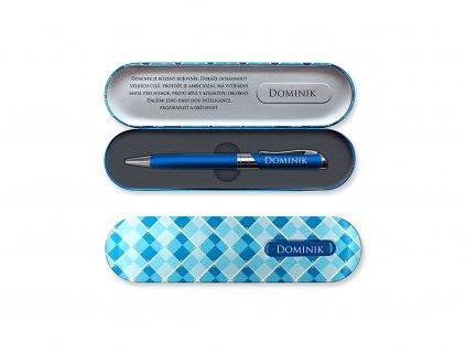 Propiska v dárkové krabičce se jménem DOMINIK