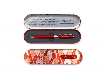 Propiska vdárkové krabičce se jménem JARMILA