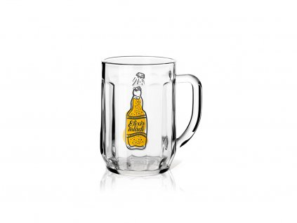 Dárková sklenice na pivo 0,3 l Elixír mládí