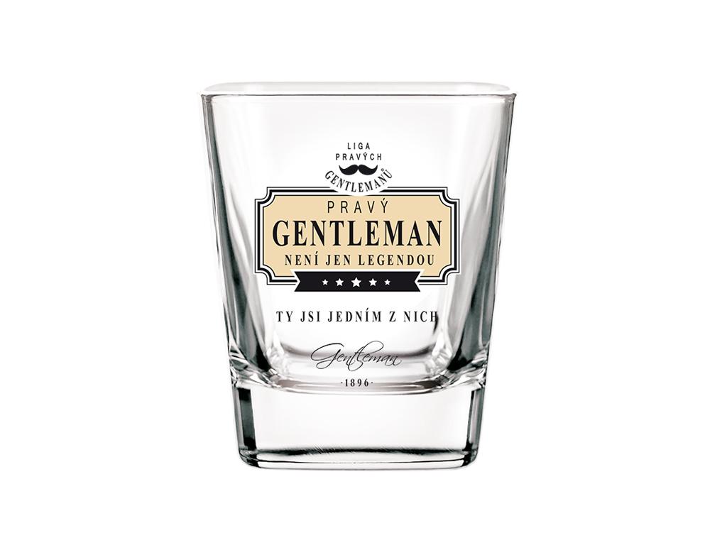 Sklenice na whisky Gentleman legenda