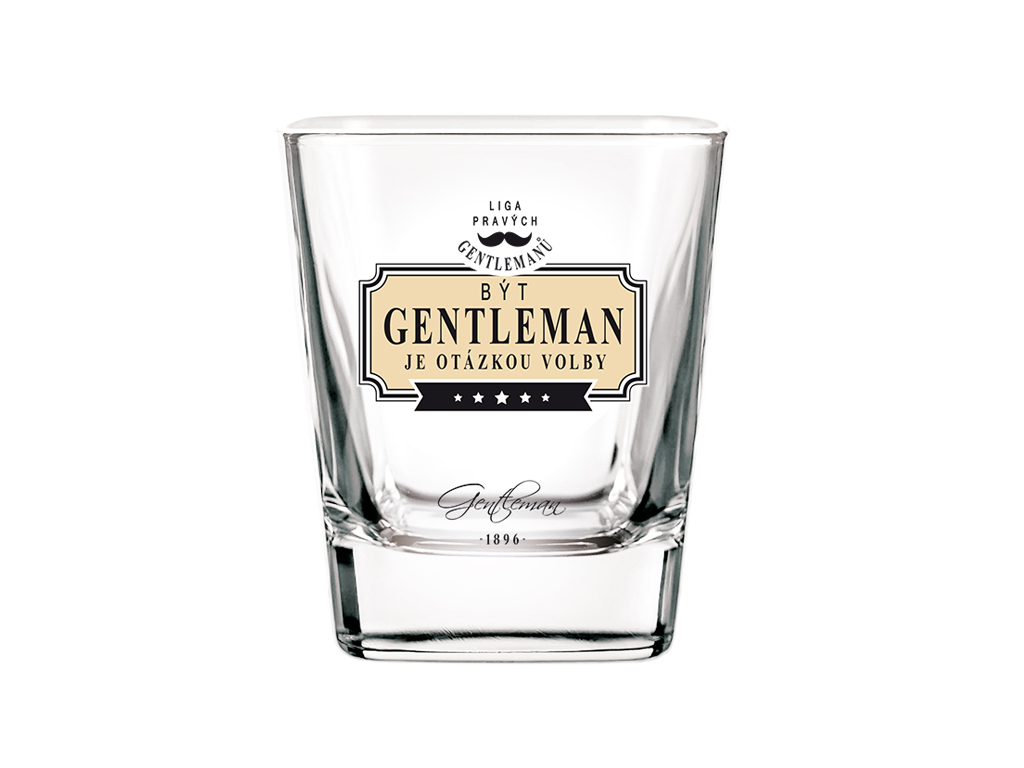 Sklenice na whisky Gentleman otázkou volby