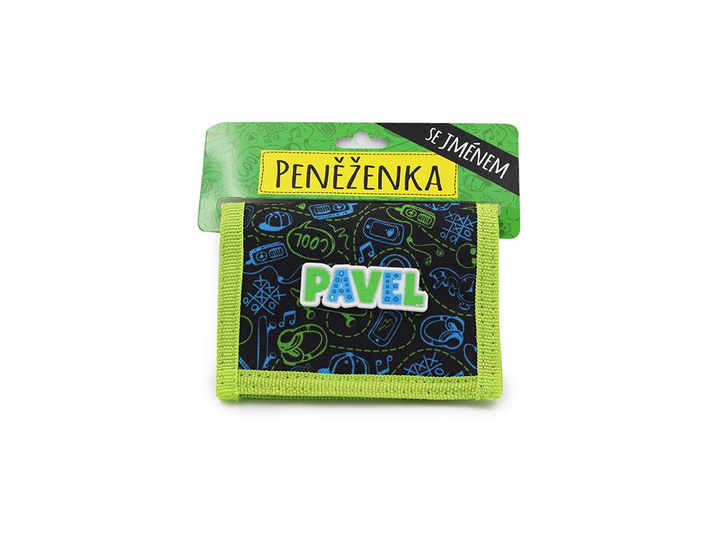 Dětská peněženka se jménem PAVEL