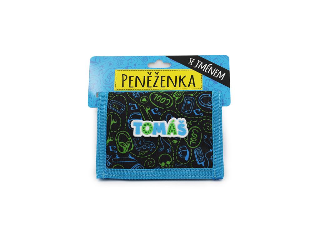 Dětská peněženka se jménem TOMÁŠ