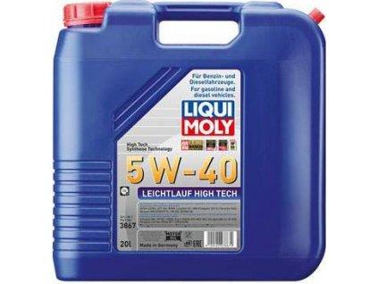 Motorový olej, LIQUI MOLY (Leichtlauf High Tech 5W-40)