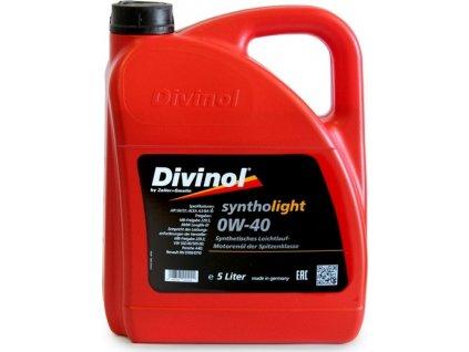 Motorový olej, DIVINOL (Syntholight 0W-40)