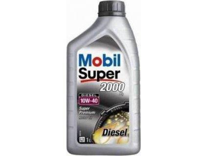 Motorový olej, MOBIL (Mobil Super 2000 X1 Diesel 10W-40)