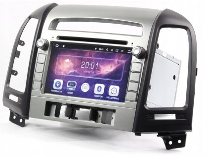 2DIN Autorádio Android Hyundai Santa Fe