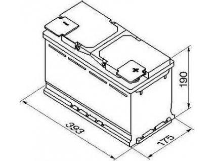 Startovací baterie, BOSCH (S5A)