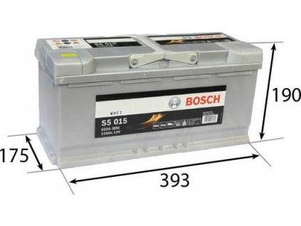 Startovací baterie, BOSCH (S5)