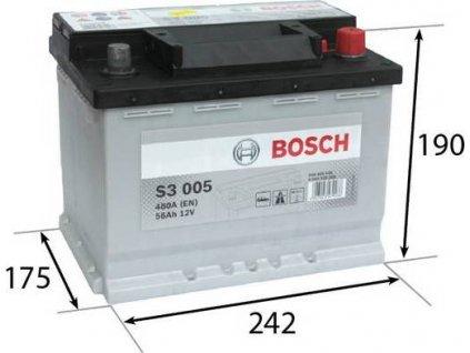 Startovací baterie, BOSCH (S3)