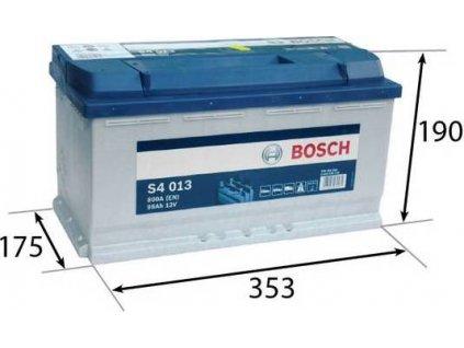 Startovací baterie, BOSCH (S4)
