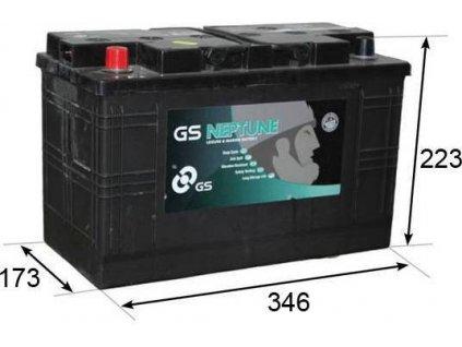 Startovací baterie, GS (GS Leisure Battery)
