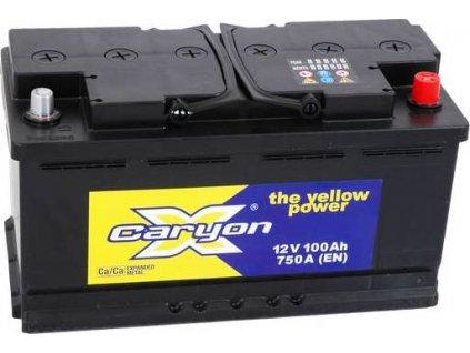 Startovací baterie, CARYON