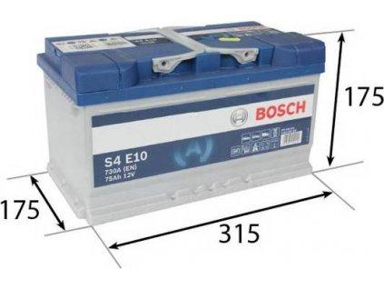 Startovací baterie, BOSCH (S4E)