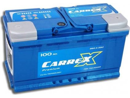 Startovací baterie, CARREX
