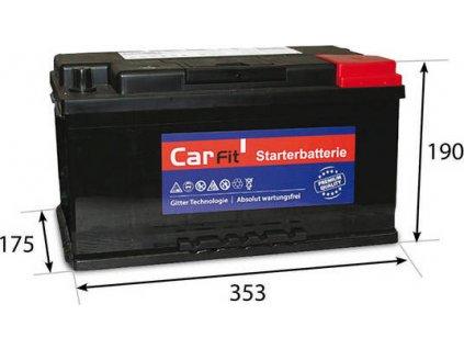 Startovací baterie, CarFit