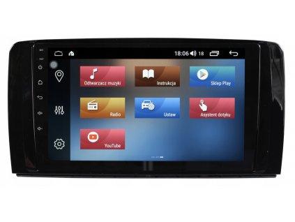 2DIN Autorádio Android Mercedes Benz R300, R350