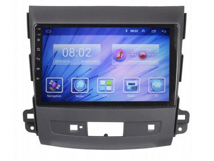 2DIN Autorádio Android Mitsubishi, Peugeot, Citroen
