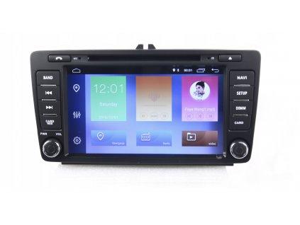 2DIN Autoradio Android Škoda 2004+