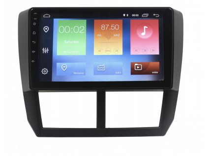 2DIN Autoradio Android Subaru Forester 2008-2013