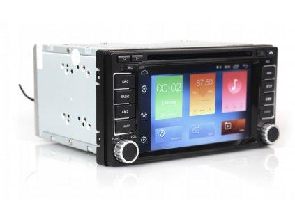2DIN Autoradio Android Subaru 2007+