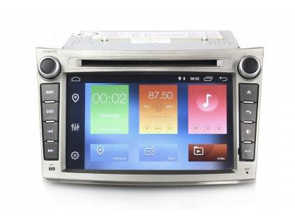 2DIN Autoradio Android Subaru 2008+