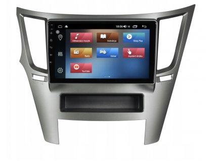 2DIN Autoradio Android Subaru 2009+