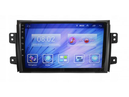 2DIN Autorádio Android Suzuki, Fiat