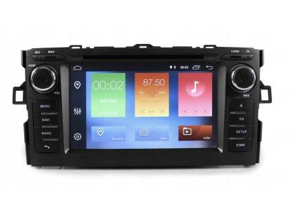2DIN Autorádio Android Toyota Auris 2006-2012
