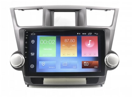 2DIN Autorádio Android Toyota Highlanter 2007-2013